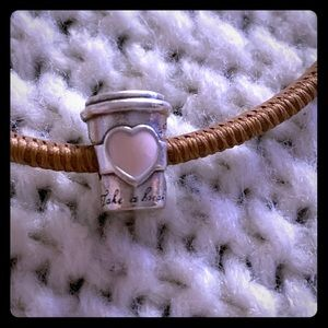 Jewelry - Pandora drink to go Charm
